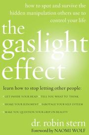 Cover of: The Gaslight Effect | Dr. Robin Stern