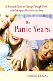 Cover of: The panic years | Doree Lewak