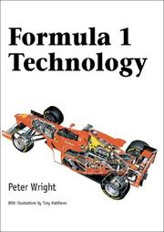 Cover of: Formula 1 Technology | Peter G. Wright