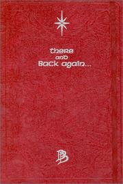 Cover of: There and Back Again...: A Journal (The Lord of the Rings : the Fellowship of the Ring) | Cedco Publishing