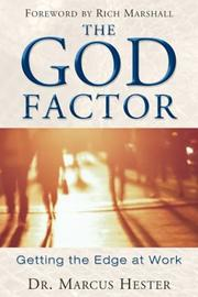 Cover of: The God Factor | Marcus Hester