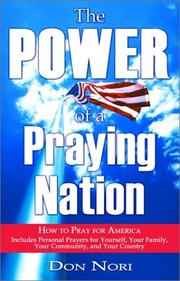 Cover of: The Hope of the Nation That Prays | Nori Don