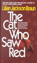 Cover of: THE CAT WHO SAW RED | Lilian Jackson Braun