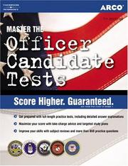 Cover of: Officer Candidate, 7th edition | Weiner & Ostrow
