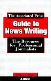 Cover of: Associated Press Guide to Newswriting | Cappon