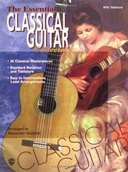 Cover of: The Essential Classical Guitar Collection | Alexander Glüklikh