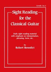 Cover of: Sight Reading for the Classical Guitar, Level I-III"