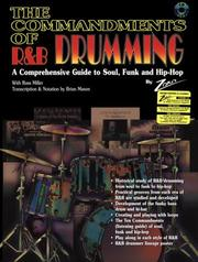 Cover of: The Commandments of R&B Drumming | Zoro