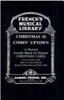 Cover of: Christmas is comin' uptown | Peter Udell