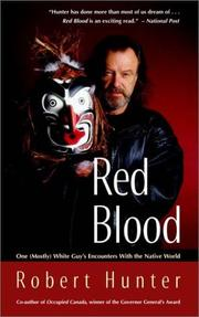 Cover of: Red Blood | Robert Hunter