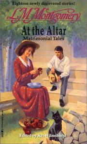 Cover of: At the Altar | Lucy Maud Montgomery