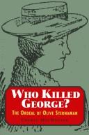 Cover of: Who killed George? by Cheryl Emily MacDonald