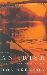 Cover of: An Irish History of Civilization | Don Akenson