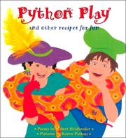 Cover of: Python play and other recipes for fun | Robert Heidbreder