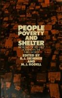 Cover of: People, Poverty and Shelter | M. J. Rodell