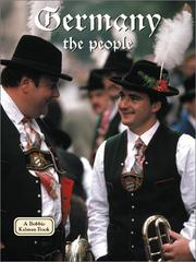 Cover of: Germany - the People (Lands, Peoples, and Cultures) by Kathryn Lane