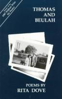 Cover of: Thomas and Beulah by Rita Dove