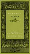 Cover of: Poema de Mio Cid | Anonimo