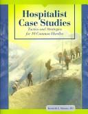 Cover of: Hospitalist case studies | Kenneth G. Simone