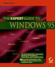Cover of: The expert guide to Windows 95 by Mark Minasi