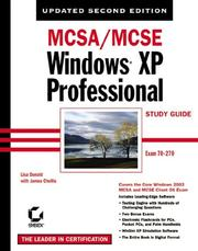 Cover of: MCSA/MCSE Windows XP Professional Study Guide, Second Edition (70-270) | James Chellis