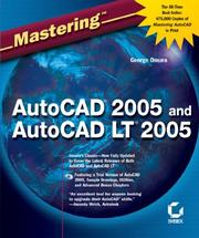Cover of: Mastering AutoCAD 2005 and AutoCAD LT 2005 | George Omura