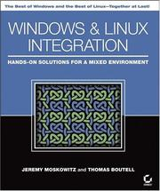 Cover of: Windows and Linux Integration | Jeremy Moskowitz