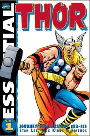 Cover of: Essential Thor Vol. 1 by Jack Kirby