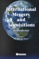 Cover of: International Mergers and Acquisitions | Meredith Brown