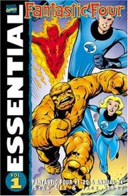 Cover of: Essential Fantastic Four, Vol. 1 by Jack Kirby