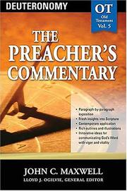 Cover of: The Preacher's Commentary  - OT Old Testament Vol.5 by John C. Maxwell