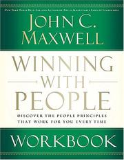 Cover of: Winning with People Workbook by John C. Maxwell