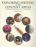 Cover of: Exploring Writing in the Content Area | Maria Carty