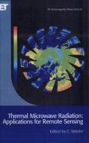 Cover of: Thermal Microwave Radiation | C. Matzler