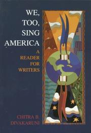 Cover of: We, Too, Sing America | Chitra B Divakaruni