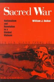 Cover of: Sacred War by William Duiker