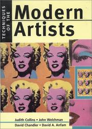 Cover of: Techniques of the Modern Artists | Judith Collins
