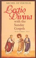 Cover of: Lectio divina with the Sunday gospels | Michel de Verteuil