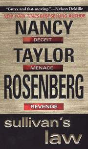 Cover of: Sullivan's Law (Carolyn Sullivan) | Nancy Taylor Rosenberg