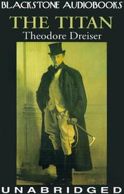 Cover of: The Titan by Theodore Dreiser