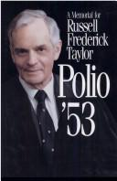 Cover of: A memorial for Russell Frederick Taylor by R. F. Taylor