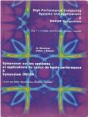 Cover of: Proceedings of the 17th International Symposium on High Performance Computing Systems and Applications and Oscar Symposium | D. Senechal