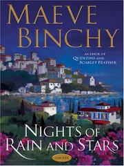 Cover of: Nights of rain and stars by Maeve Binchy