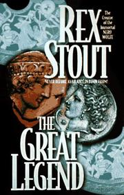 Cover of: The Great Legend by Rex Stout