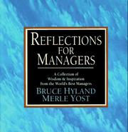 Cover of: Reflections for Managers | Bruce Hyland
