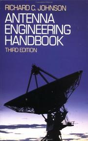 Cover of: Antenna Engineering Handbook | Richard C. Johnson