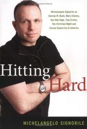 Cover of: Hitting hard | Michelangelo Signorile