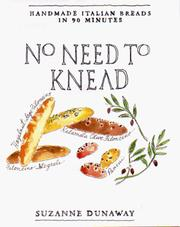 Cover of: No Need to Knead | Suzanne Dunaway