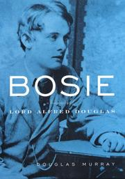 Cover of: Bosie by Murray, Douglas