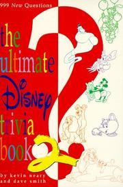 Cover of: The ultimate Disney trivia book 2 | Kevin F. Neary